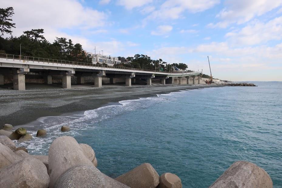 二宮町 袖ヶ浦海岸