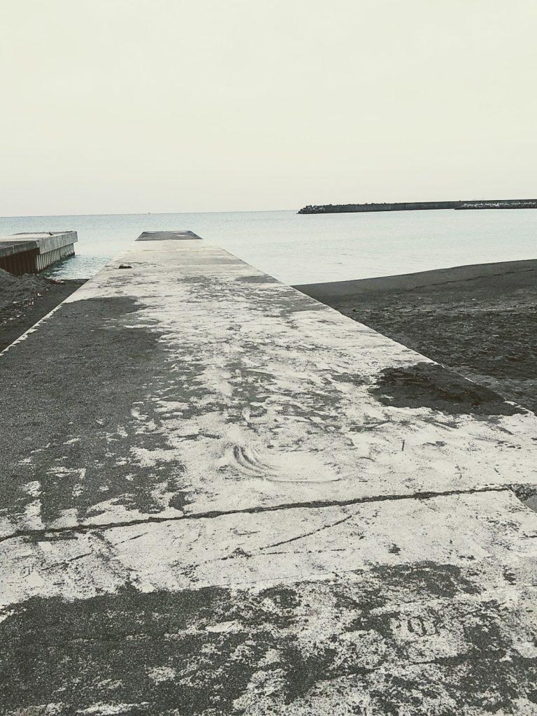 サザンビーチちがさきの突堤