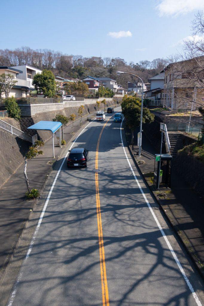 新坂呂橋通り 二宮方面