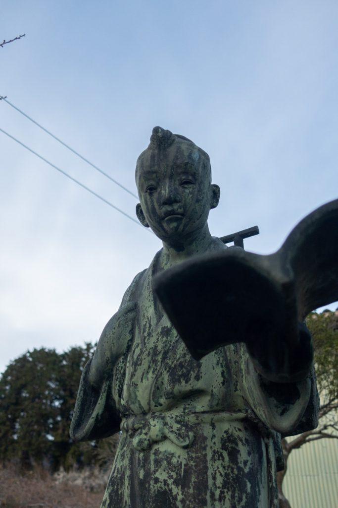 二宮尊徳銅像