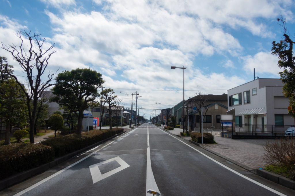 海浜公園通り